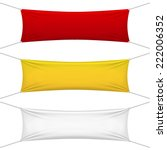 blank red  yellow  white... | Shutterstock .eps vector #222006352