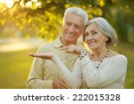 portrait of mature couple in... | Shutterstock . vector #222015328
