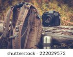 lifestyle hiking camping... | Shutterstock . vector #222029572