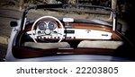 Vintage Car   Open Cabriolet...
