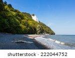 Rocks on the island of Ruegen in Germany