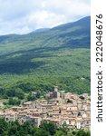 arcidosso  grosseto  tuscany ... | Shutterstock . vector #222048676