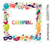 celebration festive background... | Shutterstock .eps vector #222057796