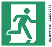 safe condition sign emergency...   Shutterstock .eps vector #222071398