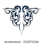 tribal tattoo | Shutterstock . vector #222072106