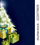 christmas background.   Shutterstock .eps vector #222075835