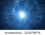 space travel warp  supernova... | Shutterstock . vector #222078976