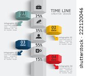 column vector infographics... | Shutterstock .eps vector #222120046