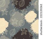 autumn seamless pattern... | Shutterstock .eps vector #222120262