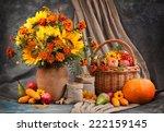 Autumn Still Life. Flower ...