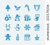 Christmas Icons.vector Eps10