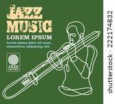 jazz | Shutterstock .eps vector #222174832