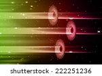 dark green pink light abstract... | Shutterstock .eps vector #222251236