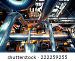 industrial zone  steel... | Shutterstock . vector #222259255