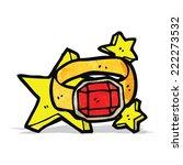 cartoon magic ring | Shutterstock .eps vector #222273532