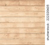 big brown wood plank wall... | Shutterstock . vector #222320605