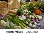 organically grown carrots ... | Shutterstock . vector #2223302