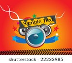 abstract background with place...   Shutterstock .eps vector #22233985