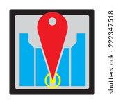 global positioning system... | Shutterstock .eps vector #222347518
