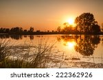 Sunset On The River   Landscap...