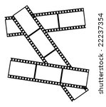 frame in the shape of old films | Shutterstock .eps vector #22237354