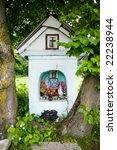 Wayside Shrine In Srednie...