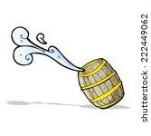 cartoon barrel of water | Shutterstock .eps vector #222449062
