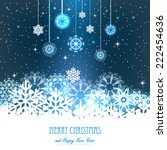vector illustration abstract... | Shutterstock .eps vector #222454636
