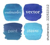 beautiful watercolor design... | Shutterstock .eps vector #222522112