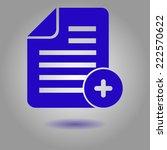 document  with ok  icon.