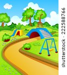 play park for children  | Shutterstock .eps vector #222588766