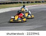 riding a kart | Shutterstock . vector #2225941