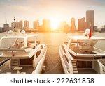 Beautiful White Modern Yachts...