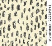doodles scrabble seamless... | Shutterstock .eps vector #222634966