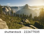 Yosemite Valley And Half Dome...