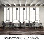loft studio  | Shutterstock . vector #222709642