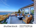 cozy patio area with comfort... | Shutterstock . vector #222732916