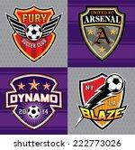 ... Soccer Club Emblem Patches ...