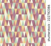 abstract seamless triangle...   Shutterstock .eps vector #222782386
