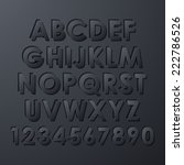 alphabet set   Shutterstock . vector #222786526