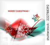 red color christmas blurred... | Shutterstock . vector #222788392