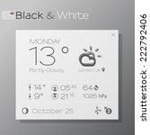 vector design of elegant... | Shutterstock .eps vector #222792406
