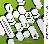modern infographic  realistic... | Shutterstock .eps vector #222792658