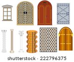 components and accessories  ... | Shutterstock .eps vector #222796375