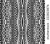 vertical contrast seamless... | Shutterstock .eps vector #222823876