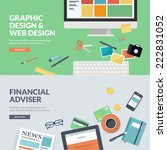flat design vector illustration ...