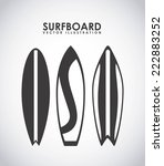 surfing zone graphic design  ... | Shutterstock .eps vector #222883252