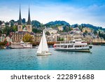 Cityscape Of Lucerne ...