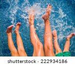 close up of feet of family in...   Shutterstock . vector #222934186