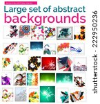 large mega set of abstract... | Shutterstock .eps vector #222950236